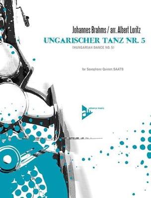 Ungarischer Tanz Nr. 5 - BRAHMS - Partition - laflutedepan.com