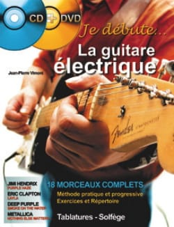 Jean-Pierre Vimont - I start the electric guitar - Sheet Music - di-arezzo.co.uk