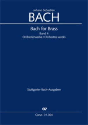 BACH - Bach for Brass Band 6 - Cantatas and other works BWV 101-1046a - Sheet Music - di-arezzo.co.uk