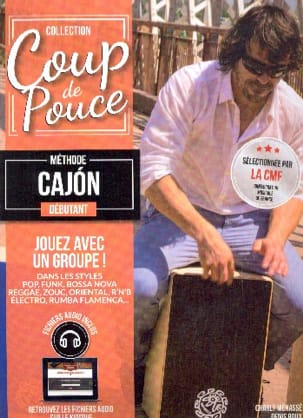 COUP DE POUCE - Beginner Cajon Method - Sheet Music - di-arezzo.com