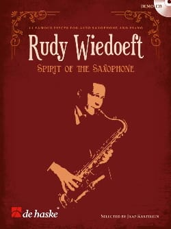 Rudy Wiedoeft - Spirit of the saxophone - Partition - di-arezzo.fr