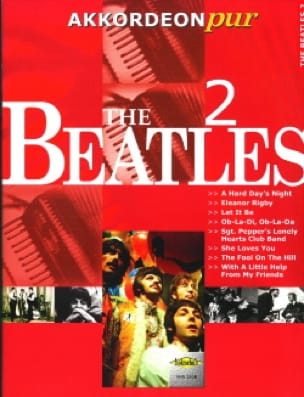 Akkordeon Pur - The Beatles 2 - BEATLES - Partition - laflutedepan.com