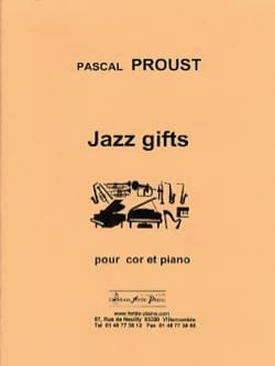 Pascal Proust - Jazz gifts - Sheet Music - di-arezzo.com