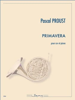 Pascal Proust - Primavera - Sheet Music - di-arezzo.co.uk