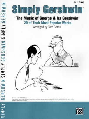 George and Ira Gershwin - Simply Gershwin, the music of George - Ira Gershwin - Partition - di-arezzo.co.uk