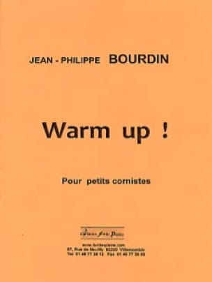 Jean-Philippe Bourdin - Warm-up! - Sheet Music - di-arezzo.com