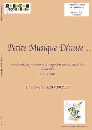 Claude-Henry Joubert - Petite musique dénuée... - Partition - di-arezzo.fr