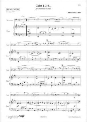 Cube 1-2-3... Alain Lopez Partition Trombone - laflutedepan