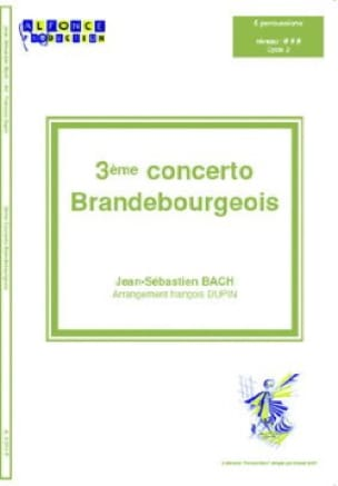 BACH - 3er Concierto de Brandenburgo - Partitura - di-arezzo.es