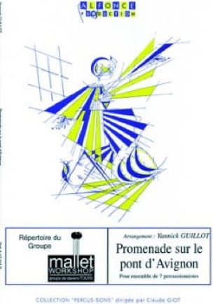 Yannick Guillot - Promenade sur le pont d' Avignon - Partition - di-arezzo.fr
