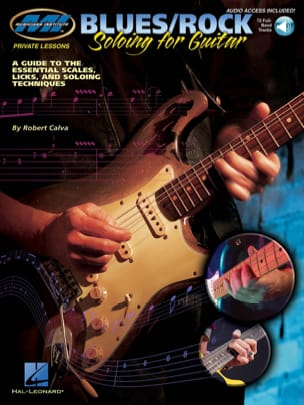 Robert Calva - Blues / Rock - soloing for guitar - Partition - di-arezzo.fr