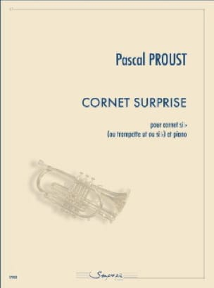 Pascal Proust - Cornet surprise - Partition - di-arezzo.fr