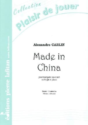 Alexandre Carlin - Made in China - Partition - di-arezzo.fr