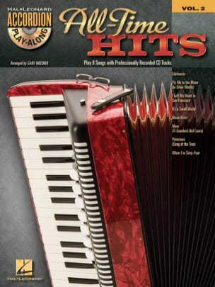 - Accordion Play-Along volume 2 - All-time hits - Sheet Music - di-arezzo.co.uk