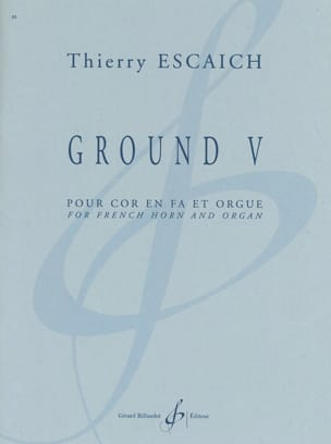 Thierry Escaich - Ground V - Partition - di-arezzo.fr