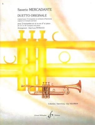Saverio Mercadante - Duetto originale - Partition - di-arezzo.fr