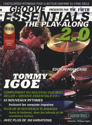 Groove Essentials 2.0 - The Play-Along Tommy Igoe laflutedepan
