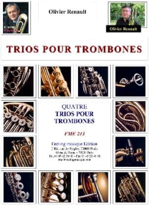 Olivier Renault - 4 trios for trombones - Sheet Music - di-arezzo.com