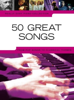 - Really easy piano collection - 50 Great songs - Partition - di-arezzo.fr