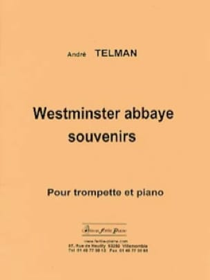 André Telman - Westminster abbaye souvenirs - Partition - di-arezzo.fr