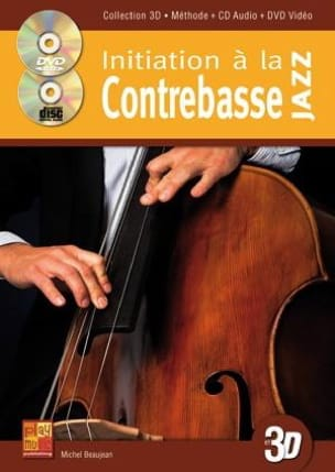 Michel Beaujean - Introduction to jazz double bass in 3 D - DVD - Sheet Music - di-arezzo.co.uk