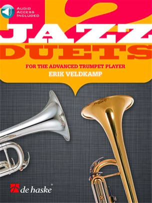 Erik Veldkamp - 12 Jazz duets for the advanced trumpet player - Sheet Music - di-arezzo.com