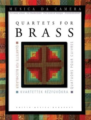 - Quatuors pour cuivres - Pour école de musique - Partition - di-arezzo.fr