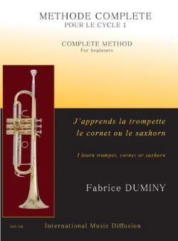 Fabrice Duminy - J'apprends la trompette, le cornet ou le saxhorn - Partition - di-arezzo.fr