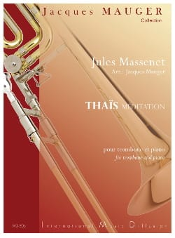 Jules Massenet - Thai meditation - Sheet Music - di-arezzo.co.uk