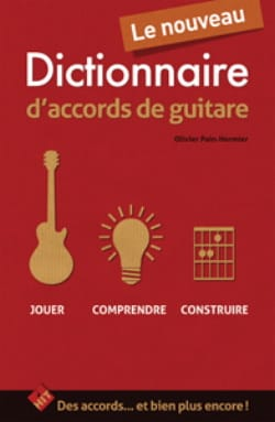 Olivier Pain-Hermier - Le nouveau dictionnaire d'accords de Guitare - Partition - di-arezzo.fr