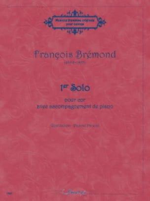 François Brémond - 1er Solo - Partition - di-arezzo.fr