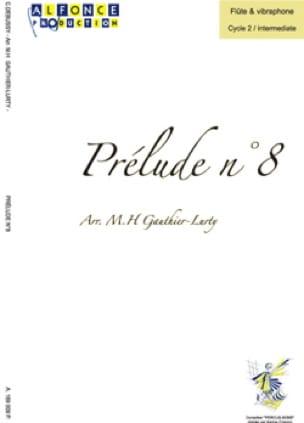 Prélude n° 8 DEBUSSY Partition Vibraphone - laflutedepan