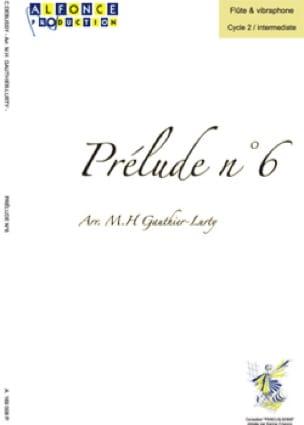 Prélude n° 6 - DEBUSSY - Partition - Vibraphone - laflutedepan.com