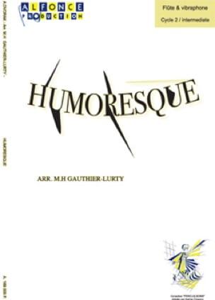 Humoresque opus 101 N° 7 - Antonin Dvorák - laflutedepan.com