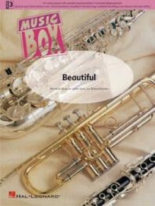 Beautiful - music box - Katy Perry - Partition - laflutedepan.com