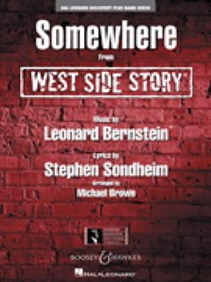 Somewhere from West side story - Leonard Bernstein - laflutedepan.com