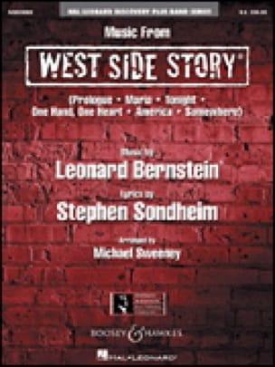 Music from West side story Leonard Bernstein Partition laflutedepan