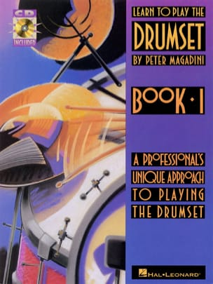 Learn to play the drumset book 1 - Peter Magadini - laflutedepan.com