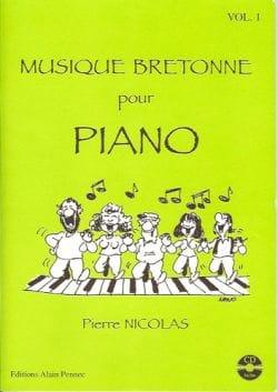Pierre Nicolas - Breton music for piano volume 1 - Sheet Music - di-arezzo.co.uk