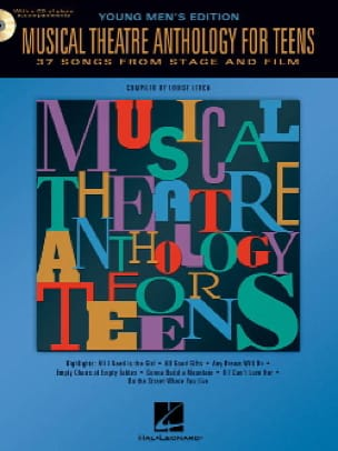 Musical theatre anthology for teens - Young men's edition - laflutedepan.com