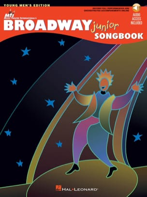 - Broadway junior songbook - Young men's edition - Partition - di-arezzo.fr