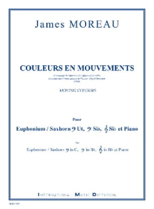 James Moreau - Colors in motion - Sheet Music - di-arezzo.com