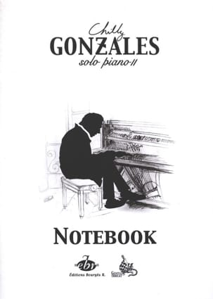 Chilly Gonzales - NoteBook Solo Piano II - Sheet Music - di-arezzo.com