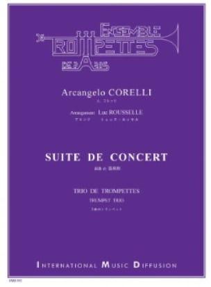 Arcangelo Corelli - Suite de concert - Partition - di-arezzo.fr