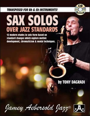 Sax solos over jazz standards Tony Dagradi Partition laflutedepan