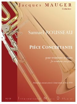 Samuel Rousseau - Concertante Room - Sheet Music - di-arezzo.co.uk