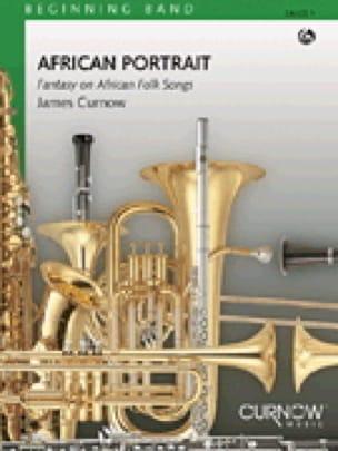 African portrait James Curnow Partition ENSEMBLES - laflutedepan
