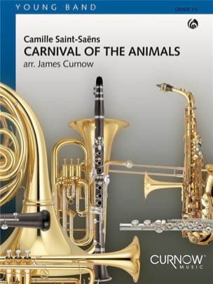Carnival of the animals Camille Saint-Saëns Partition laflutedepan