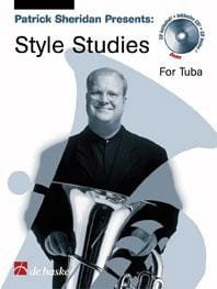 Patrick Sheridan - Style studies for tuba - Sheet Music - di-arezzo.com