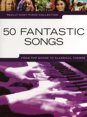 - Really easy piano collection - 50 Fantastic songs - Partition - di-arezzo.fr